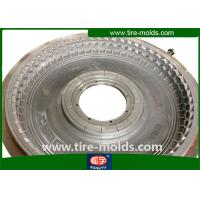 Wholesale CNC Engraving Truck Tire Mold , High Precision Light Tyre Mould Forging from china suppliers