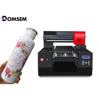 China 2880dpi Desktop Uv Printer Flatbed Intelligent Self Protect System With Emboss Effect on sale