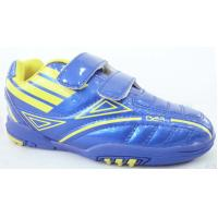 Blue Childrens Soccer Shoes / Turf Soccer Cleats for world cup Manufactures
