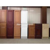 Solid Wood Kitchen Cabinet Door Wooden Bath Cabinets Furniture Factory Custom Service Modular