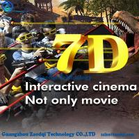Wholesale Exhibition Mobile 5D 7D cinema on truck/amusement park games factory/5d Theater Rider in a Trailer New from china suppliers
