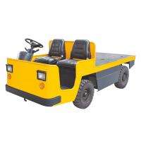 Wholesale Pneumatic Battery Operated Platform Truck , Electric Industrial Tow Tractors 3000kg from china suppliers