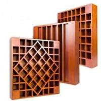 Wholesale Wood Acoustic Diffuser Ceiling Panels , 3D MDF Auditorium Sound Proof Wall Board from china suppliers