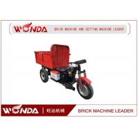 China Large Capacity Electric Mini Dumper , Electric Cargo Carrier Brick Delivery Cart on sale