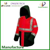 Wholesale waterproof reflective suit for police,traffic safety suit ,safety suit for USA worker from china suppliers