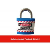 Wholesale 20.4mm Metal Lock Body Inside ABS Lock Housing Safety Jacket Lockout Padlock from china suppliers