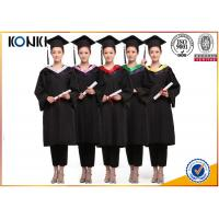 Buy cheap wholesale graduation gowns and mortar board black gowns from China clothing from wholesalers