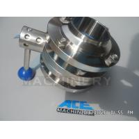 Wholesale Stainless Steel Sanitary Butterfly Valve (ACE-DF-9V) from china suppliers