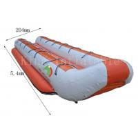 Customized Double Row Inflatable Banana Boats 5.4 *2.04 m 14 Seats for sale