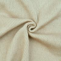 Wholesale Wool Blend Fabric Rib Stretchy With Spandex For Spring from china suppliers