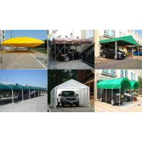 Carport On Wheels : Canvas carport green fodable with wheels for sale