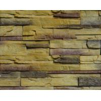 Wholesale Lightweight PVC Artificial Cultured Stone Panel 3D PU Polyurethane Faux Wall Veneer from china suppliers