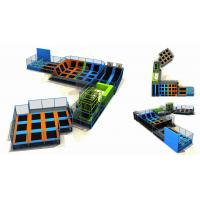 Wholesale 892M2 Chinese Custom Size Kids Amusement Indoor trampoline Park/ Outdoor Bungee Park/ Jumping Center from china suppliers