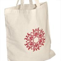 Eco Friendly Embroidered Tote Bags For Bridesmaids