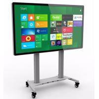 China Multi writing touch screen interactive whiteboard smart board with video conference function on sale