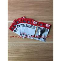 China Custom Logo Printing Zip Lock Plastic Bag For USB Cable Packaging / Headphone / Computer Accessories on sale