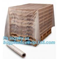 China moisture proof reusable virgin plastic pallet cover, poly square bottom bag pallet top cover bags plastic vinyl cover fo on sale