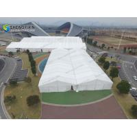Tennis court Cover Large Indoor Space Sport Tent from syxtent Aluminum frame glass wall hard wedding marquee tent for sale