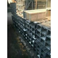 Wholesale Rectangular / Square Steel Pipe Hollow Section Galvanzied / Black Annealing Steel Tube from china suppliers