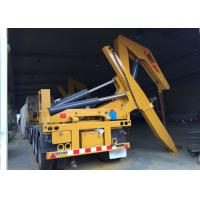 China Side Lifter 3 Axles Semi Trailer Truck Lift / Carry 20ft 40ft Container on sale