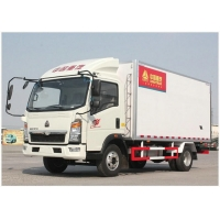 Wholesale 116HP 4×2 -25℃ Refrigerator Car from china suppliers