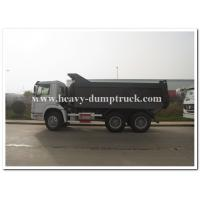 China Sinotruk SWZ 336 hp heavy duty dump truck with 20m3 cargo body and strong reinforced frame on sale