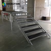 Wholesale Portable outdoor event stage /Folding Iron,Aluminum stage, for large outdoor event, antiskid deck, whether-proof from china suppliers