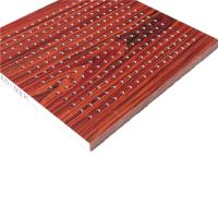 Wholesale Perforated Wood Polyester Fiber Acoustic Wall Panel Fire Retardant Melamine Finished from china suppliers