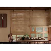 "Wholesale OEM Multilayer 20""Wx48""L Wooden Woven Bamboo Blinds Roman Shade from china suppliers"