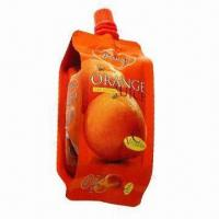 Wholesale Standup Spout/Side Gusseted Pouch, Suitable for Juice Packaging from china suppliers