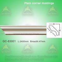 China Polyurethane cornice mouldings crown moulding on sale