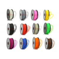 Wholesale Colored 3D Printer ABS Filament Oil Based 1.75mm / 3mm SGS ROHS from china suppliers