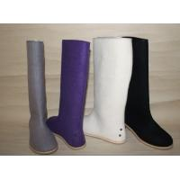 Wholesale 100% wool felt boots,Fashion shoes, warm shoes, hot sale felt shoes from china suppliers