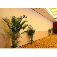 Wholesale Hotel Movable Partition Wall Systems With Track And Wheels from china suppliers