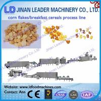 Wholesale Corn flakes breakfast cereals snacks process line snack food making machine from china suppliers