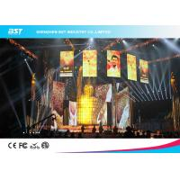 Buy cheap 1200 Nits Brightness P3.91 Led Video Screen Rental For Advertising Media product