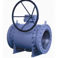 Wholesale 12 Inch Trunnion Mounted Ball Valve , API6D Flanged Reduced Bore Ball Valve from china suppliers