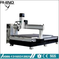 China Rhino brand Linear tool changer fast speed ATC CNC Router machine , automatic tool changer ISO30 holder on sale