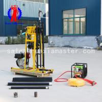 China HuaxiaMaster Light hydraulic core drilling rig/50meters  rock core sampling drilling rig water well drill machine on sale
