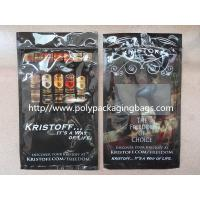 Portable 5 Cigar Humidor Bags With Moisturizing System To Keep Cigars Fresh