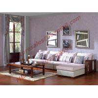 Wholesale Solid Wooden Frame with Fabric Sectional Sofa in Home Furniture Set from china suppliers