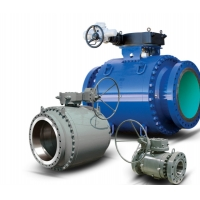 Wholesale F304 Reduced Port Bolted 3 Piece Trunnion Ball Valves from china suppliers