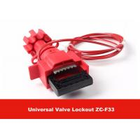 Wholesale Universal Valve Lockout with 1.8M Cable Attched to Lock Out Valves from china suppliers