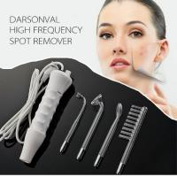Wholesale Handheld High Frequency Infrared Darsonval Spot Acne Remover Face Hair Body Skin Care Spa Beauty Acne Treatment Machine from china suppliers