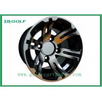 Wholesale Black Hubcaps For Golf Cart Wheels 10x7 Machined Golf Buggy Accessories from china suppliers