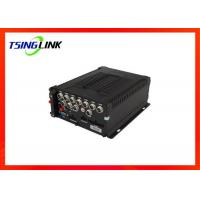 Wholesale GPS Hard Disk Recording Playback DVR Support OSD Menu 4G Vehicle 8CH MDVR from china suppliers