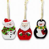 China Painting Glass Christmas Ornament, OEM Orders are Welcome on sale