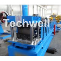 Quality Light Steel Stud Roll Forming Machine , 5.5 Kw Industrial Metal Roll Forming for sale