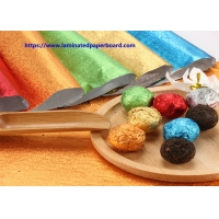 Buy cheap Colorful Foil Paper/PET Film Paper for Chocolate Packages / Eyes Mask/Gift Case from wholesalers