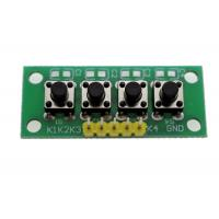 Buy cheap 4 Push Buttons Matrix Keypad Module PCB Material For DIY Project OKY3530-1 from wholesalers